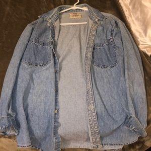 Vintage light denim Levi's jacket